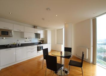 Thumbnail 1 bedroom flat to rent in Halo Tower, 158 High Street, Stratford