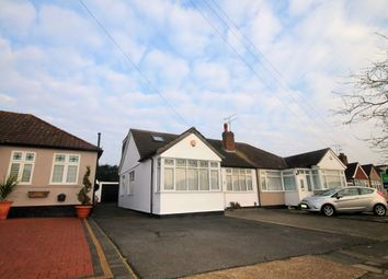 Thumbnail 4 bedroom bungalow to rent in David Drive, Harold Wood, Romford