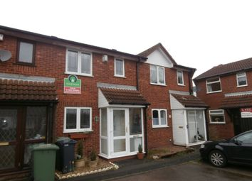 Thumbnail 2 bed terraced house to rent in Lakeside Close, Willenhall