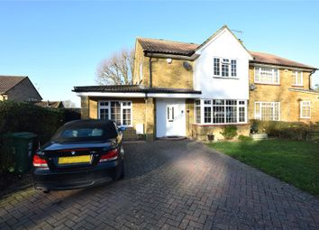 Thumbnail 4 bed semi-detached house to rent in Makepiece Road, Bracknell, Berkshire