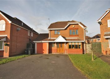 Thumbnail 4 bedroom detached house for sale in Swan Way, Coalville