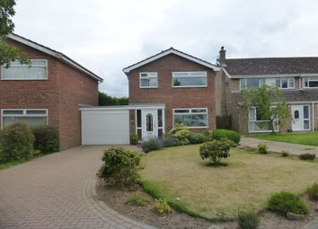 Thumbnail 3 bed detached house for sale in Foxcotte Close, Hellesdon, Norwich