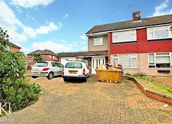 Thumbnail 3 bed semi-detached house for sale in Rushleigh Avenue, Cheshunt, Waltham Cross
