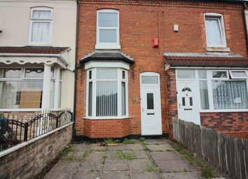 Thumbnail 2 bed terraced house for sale in Fox Crescent, Fernley Road, Sparkhill, Birmingham