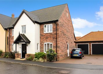 Thumbnail 4 bed detached house for sale in Potters Way, Poringland, Norwich, Norfolk