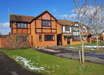 Thumbnail 4 bedroom detached house for sale in Moorhen Close, Dorcan, Swindon