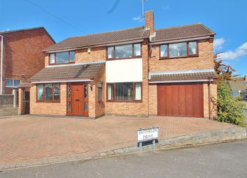 Thumbnail 4 bed detached house for sale in Outfields Drive, Cropston, Leicestershire