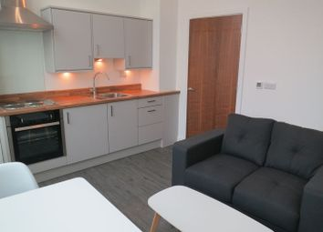 Thumbnail 1 bed flat to rent in Wellington Road South, Stockport
