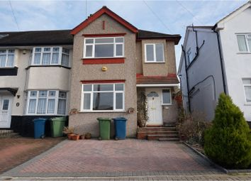 Thumbnail 3 bed semi-detached house to rent in Dudley Road, Harrow