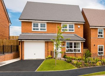 """Thumbnail 4 bed detached house for sale in """"Tetbury"""" at Zone 4, Burntwood Business Park, Burntwood"""