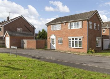 Thumbnail 3 bed detached house for sale in Bowers Croft, Leamington Spa