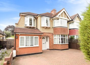 Thumbnail 5 bed semi-detached house for sale in Walsingham Gardens, Stoneleigh, Epsom