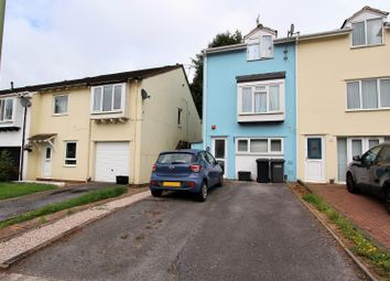 Thumbnail 3 bed end terrace house for sale in Fowey Avenue, Torquay