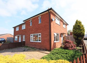 Thumbnail 2 bed semi-detached house to rent in Meese Close, Wellington, Telford