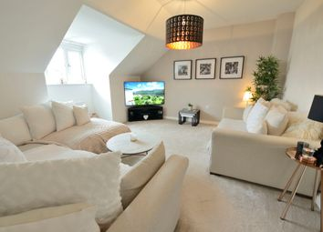 Thumbnail 3 bed flat for sale in Queens Crescent, Livingston