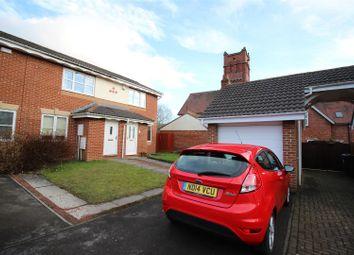 Thumbnail 2 bed end terrace house for sale in Clowbeck Court, Faverdale, Darlington