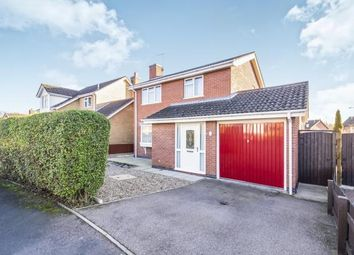 Thumbnail 3 bed detached house for sale in Archer Close, Loughborough, Leicestershire