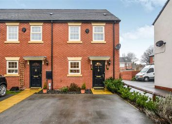 Thumbnail 3 bedroom end terrace house for sale in Bunkers Hill Road, Hull