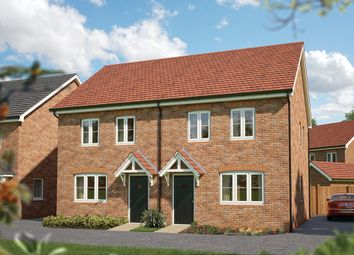 "Thumbnail 2 bed semi-detached house for sale in ""The Holly"" at Hobnock Road, Essington, Wolverhampton"