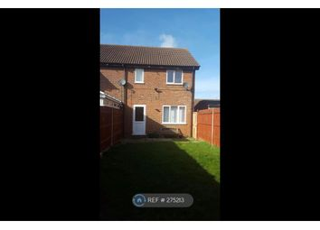 Thumbnail 3 bedroom end terrace house to rent in Fieldfare Green, Luton