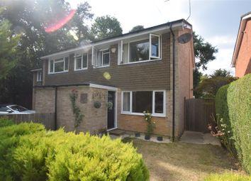 Thumbnail 3 bed semi-detached house for sale in Hazel Green, Baughurst, Tadley