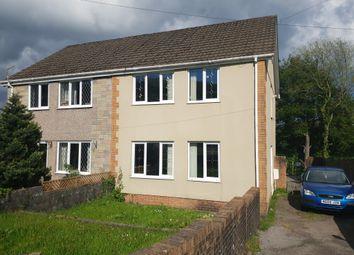 Thumbnail 3 bed semi-detached house for sale in Heol Graig Felen, Clydach, Swansea