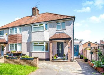 Thumbnail 3 bed semi-detached house for sale in The Harebreaks, Watford, Hertfordshire, .
