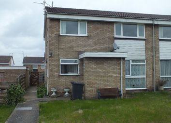 Thumbnail 2 bed maisonette to rent in Buckfast Close, Leicester