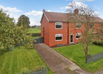 Thumbnail 4 bed semi-detached house for sale in Nantwich Road, Wrenbury, Nantwich