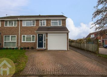 Thumbnail 4 bed semi-detached house for sale in Briars Close, Royal Wootton Bassett, Swindon