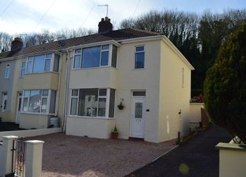 Thumbnail 3 bedroom end terrace house for sale in Sherwell Valley Road, Torquay