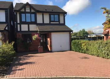Thumbnail 3 bed detached house for sale in Seymour Avenue, Stretton, Burton-On-Trent