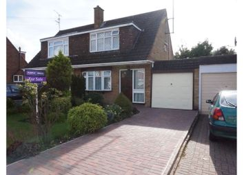 Thumbnail 3 bed semi-detached house for sale in Nappsbury Road, Luton