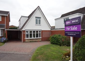 Thumbnail 3 bed link-detached house for sale in Anker Close, Burntwood