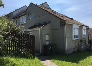 Thumbnail 1 bedroom end terrace house to rent in Kidwelly Close, Plympton, Plymouth