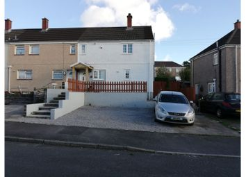 Thumbnail 2 bed end terrace house for sale in Criccieth Place, Winch Wen