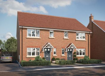 "Thumbnail 3 bed property for sale in ""The Elsenham"" at Buckingham Road, Steeple Claydon, Buckingham"