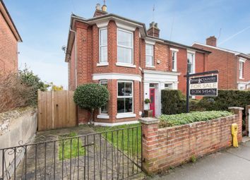 Thumbnail 4 bed semi-detached house for sale in High Street, Wivenhoe, Colchester