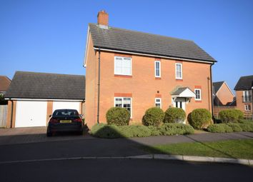 Thumbnail 3 bed detached house for sale in Campbell Road, Hawkinge, Folkestone