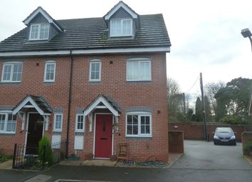 Thumbnail 3 bed semi-detached house to rent in Forge Way, Dorrington, Shrewsbury