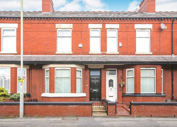 Thumbnail 3 bed terraced house for sale in Station Road, Reddish, Stockport, Greater Manchester