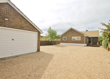 Thumbnail 4 bedroom detached bungalow for sale in The Island, Wraysbury, Staines-Upon-Thames, Berkshire