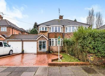 Thumbnail 3 bedroom semi-detached house for sale in Osmaston Road, Harborne, Birmingham, West Midlands