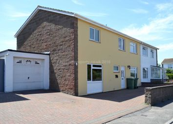 Thumbnail 4 bed semi-detached house for sale in Le Mont Pelle, Tower Road, St. Helier, Jersey