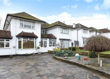 Thumbnail 4 bed semi-detached house for sale in Raglan Gardens, Oxhey Hall