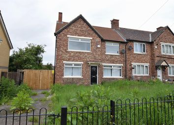 Thumbnail 3 bed end terrace house for sale in Bishopton Road, Middlesbrough