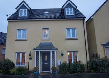 Thumbnail 4 bed detached house for sale in Clos Pwll Glo, Merthyr Tydfil