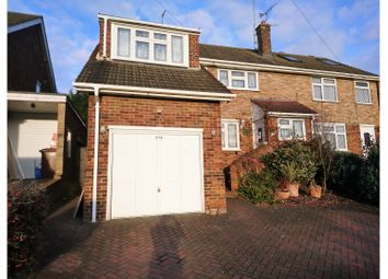 Thumbnail 4 bed semi-detached house for sale in Lonsdale Drive, Gillingham