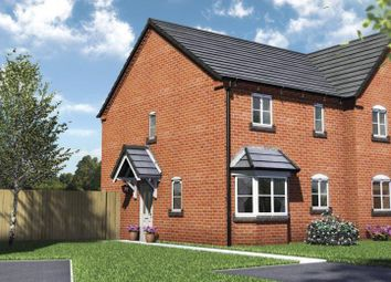 Thumbnail 3 bed semi-detached house for sale in Plot 1, Arundle, Hall Bank, Pontesbury, Shrewsbury