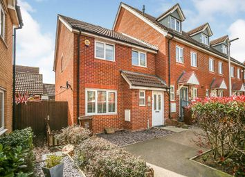 Rivenhall Way, Rochester ME3. 3 bed end terrace house for sale